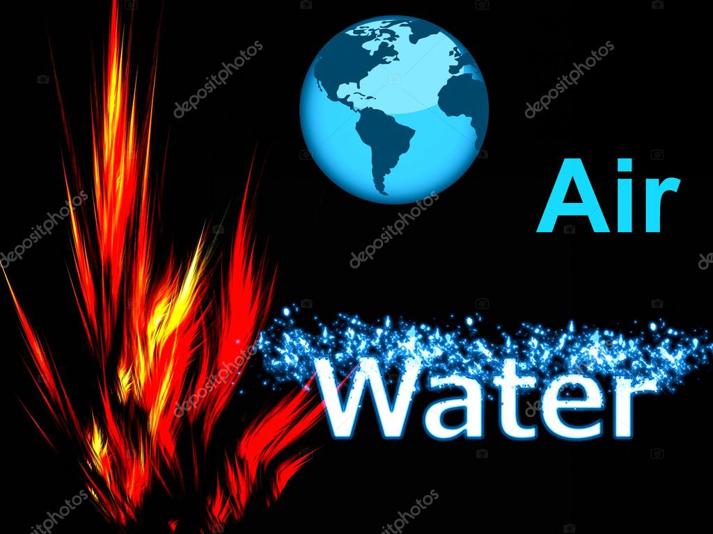 Earth Air Fire And Water Stock Photo C Kez53 43782311