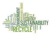 Recycle green environment concept