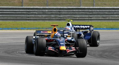 Red Bull Racing RB3 - David Coulthard