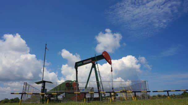 Oil pump in Seria, Brunei