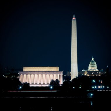 Washington DC Skyline At Night