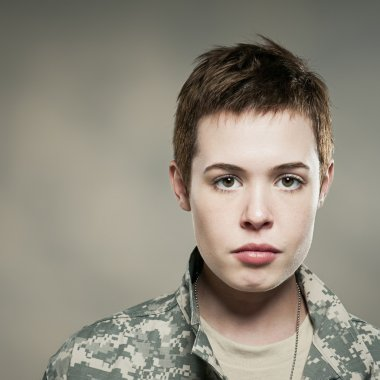 Female Fashion Soldier