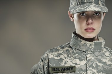 Female US Army Soldier