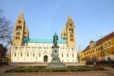 St Peter and St Paul Baisilica, Pecs, Hungary