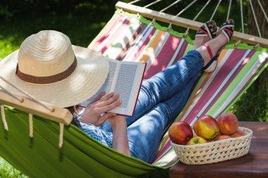 Relax on hammock