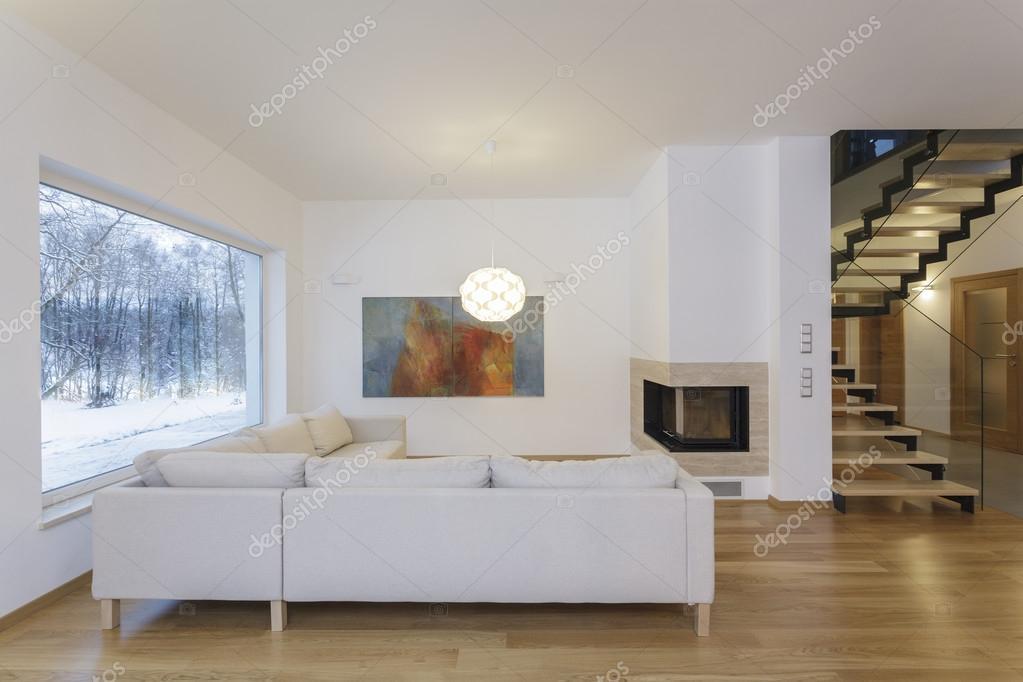 ontwerpers interieur - artistieke woonkamer — Stockfoto ...