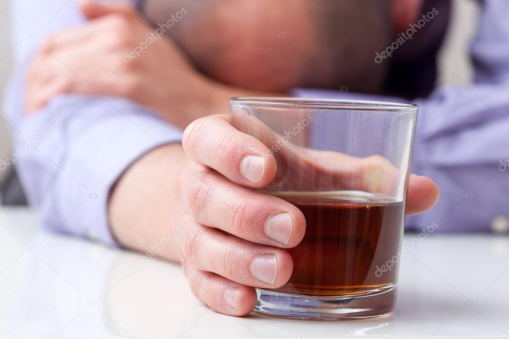 Depressed alcoholic