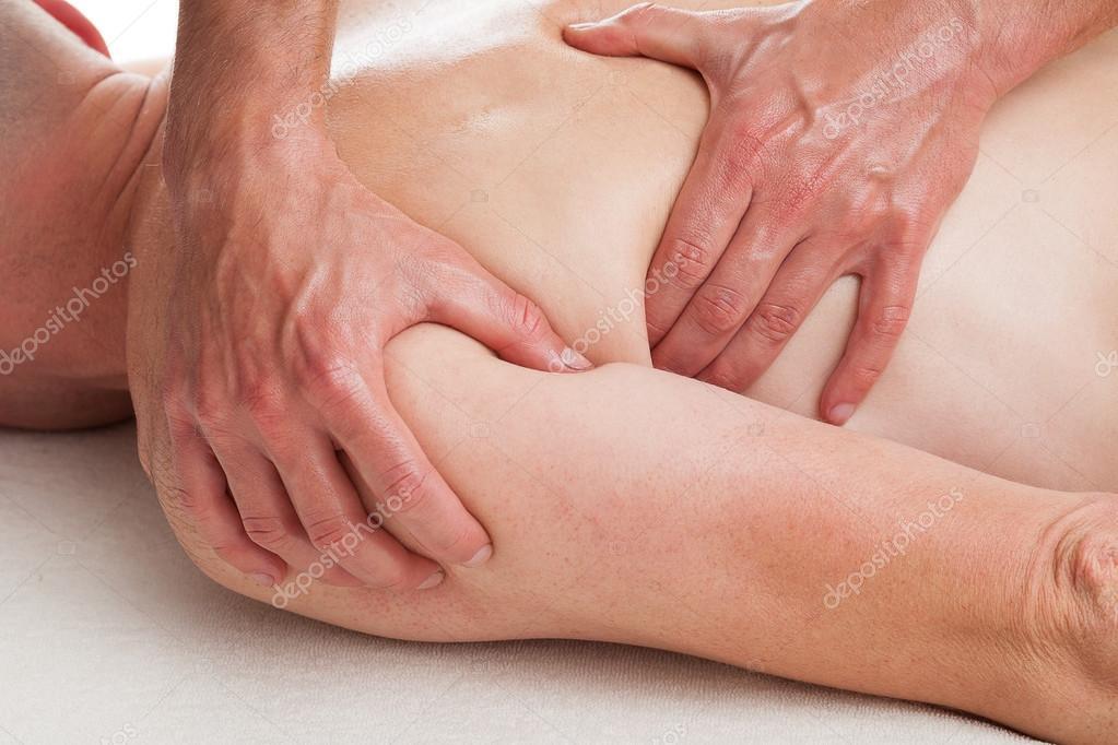 porriga underkläder ko massage