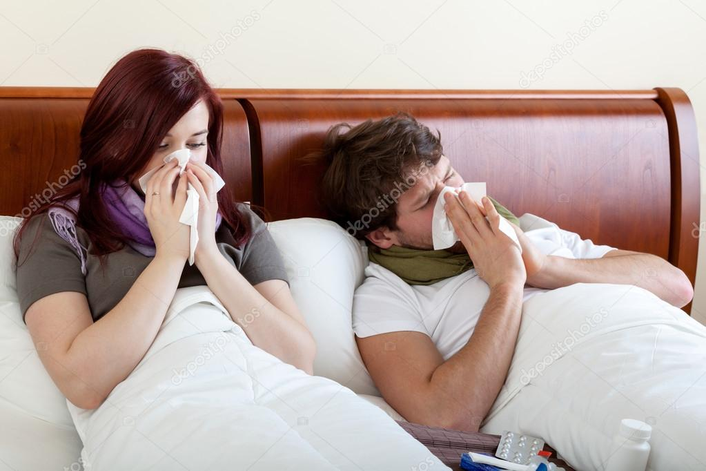 Marriage with running nose