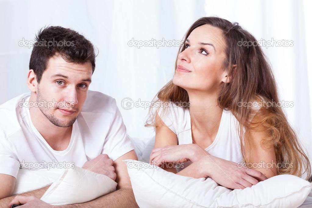 Фото с мужем в постели — photo 14