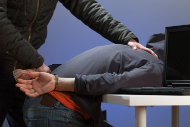 Arresting a hacker