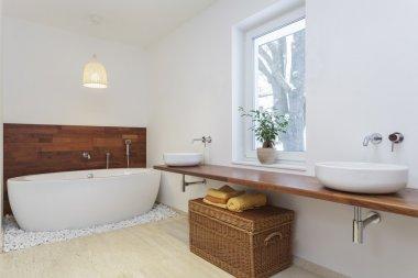 African bathroom