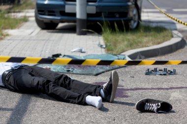 Victim of car crash
