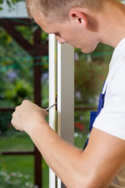 Fixing window frame
