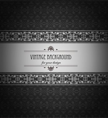 Vintage background, antique, beautiful old paper, card, ornate cover page, label. floral luxury ornamental pattern template for design