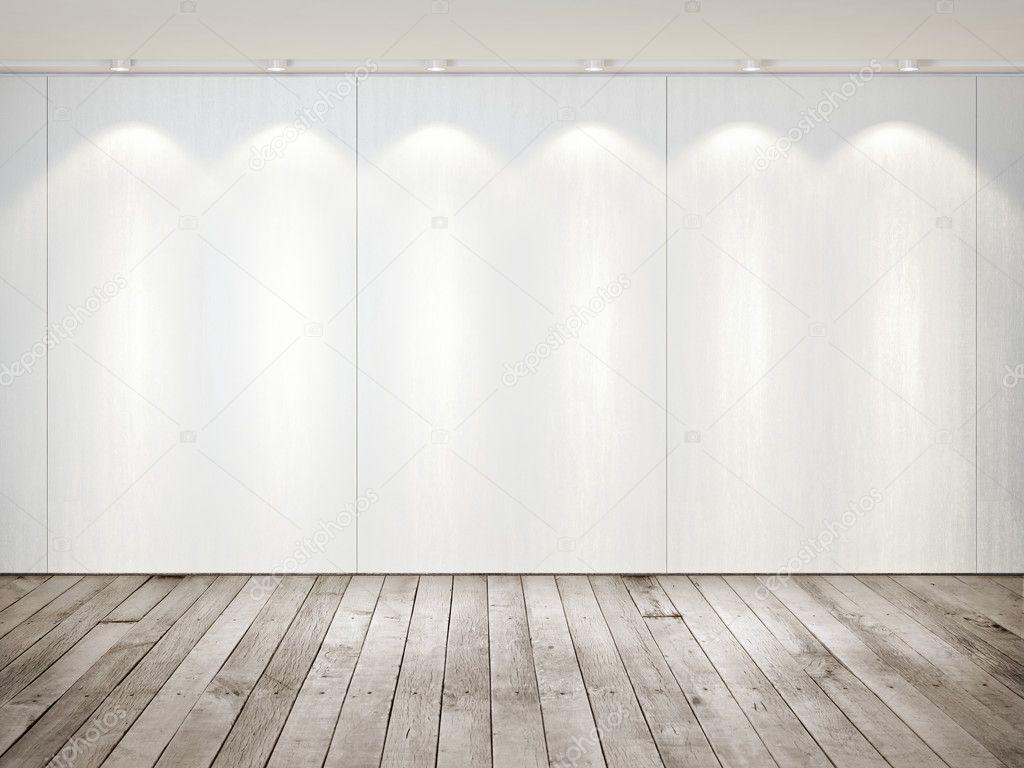 Houten Vloer Tegels : Muur van tegels en houten vloer abstracte achtergrond sjabloon