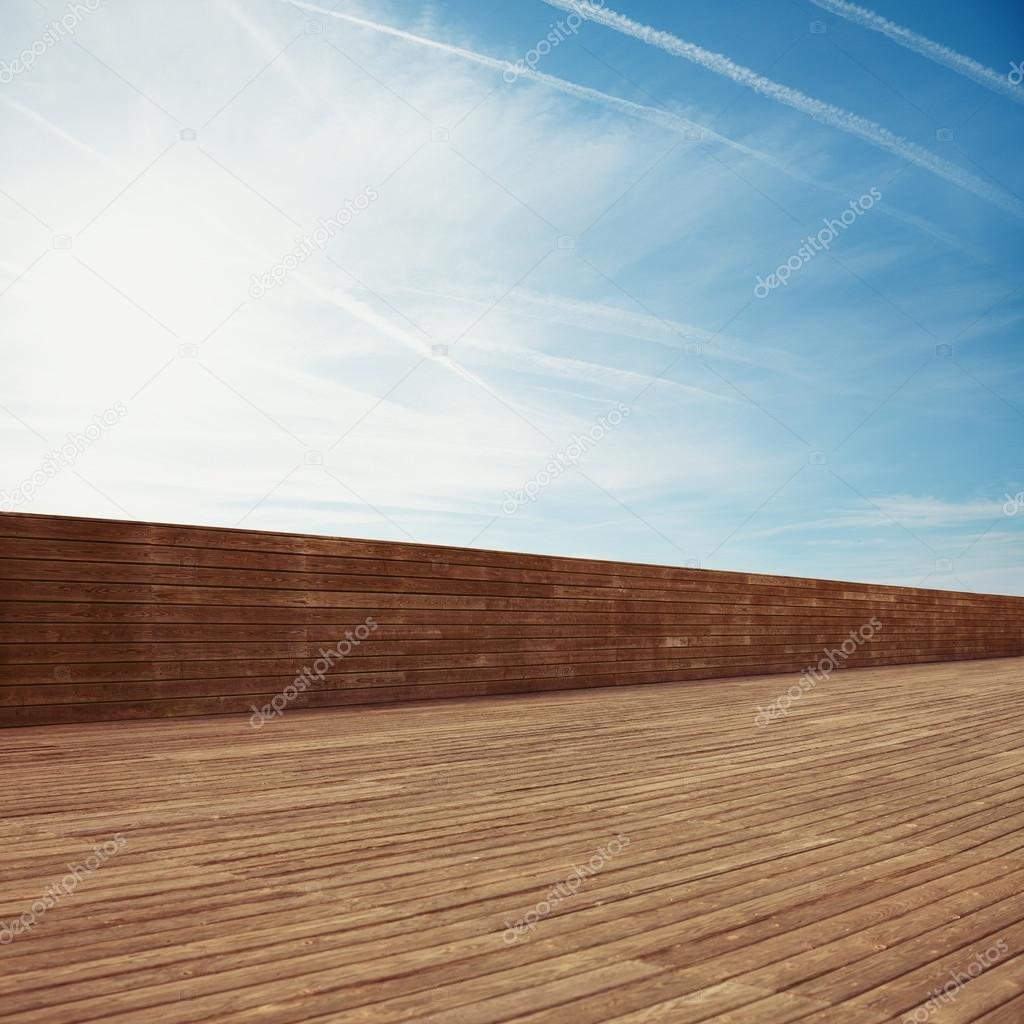 Background with with wooden planks