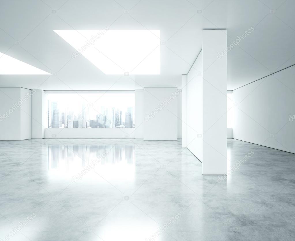 Empty bright office interior stock photo kantver 42290055