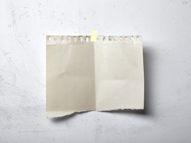 Ragged paper