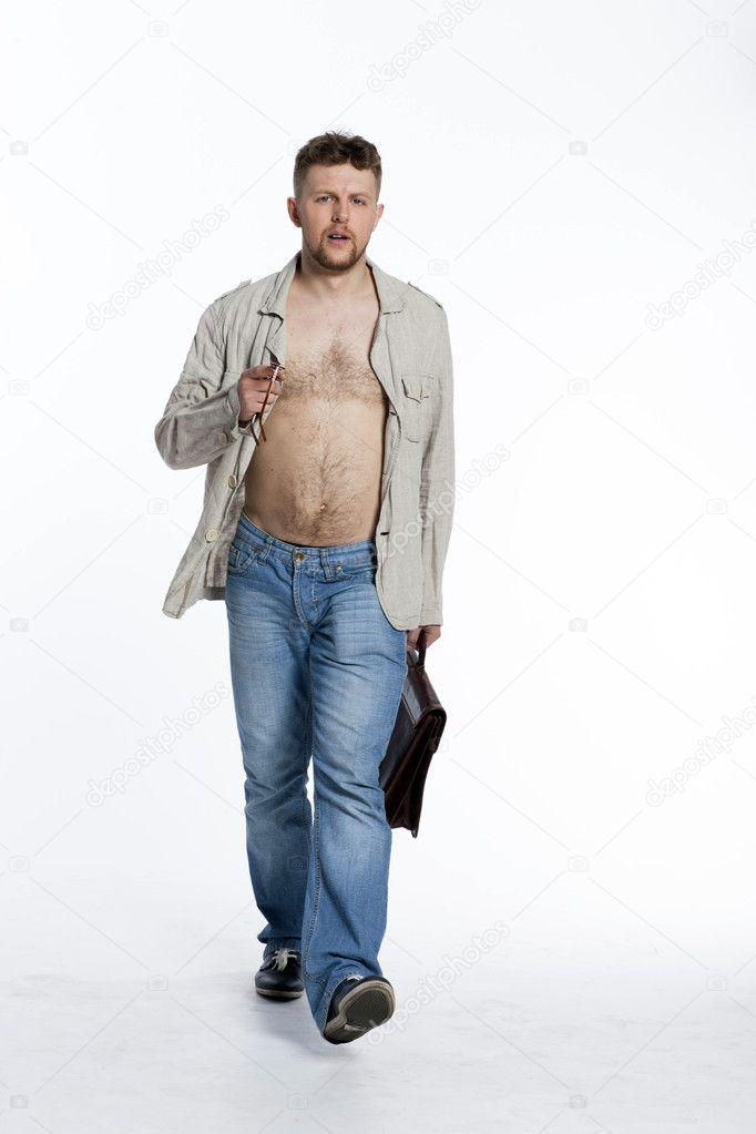 naken modell portföljer