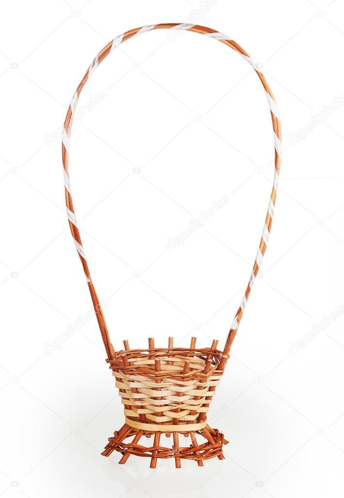 cesta vacía de flores — Foto de stock © GeniusKp #38866955