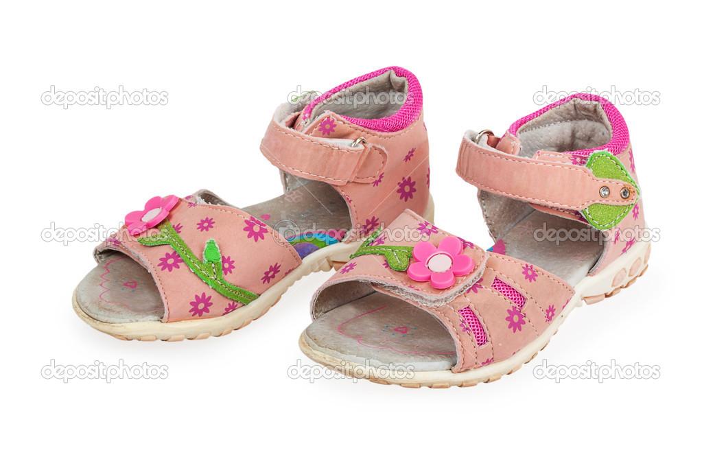 283e877276a μωρό ροζ σανδάλια — Φωτογραφία Αρχείου © GeniusKp #49363667