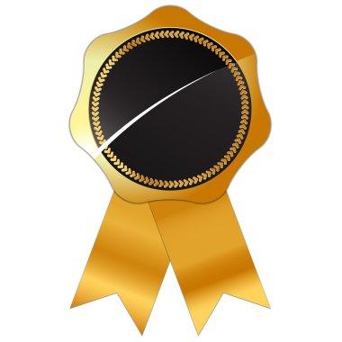 Gold certified simbol