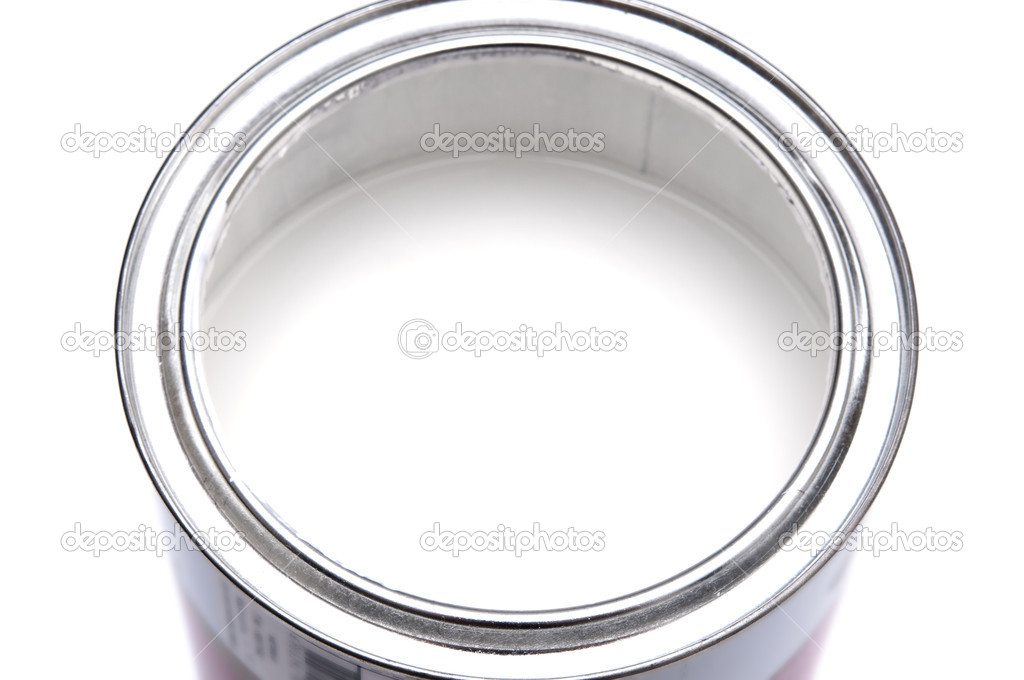 Paint can closeup