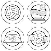 Volleyball Emblems