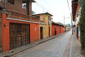 Mexický pouliční scéna