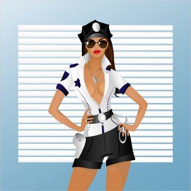 The girl in uniform