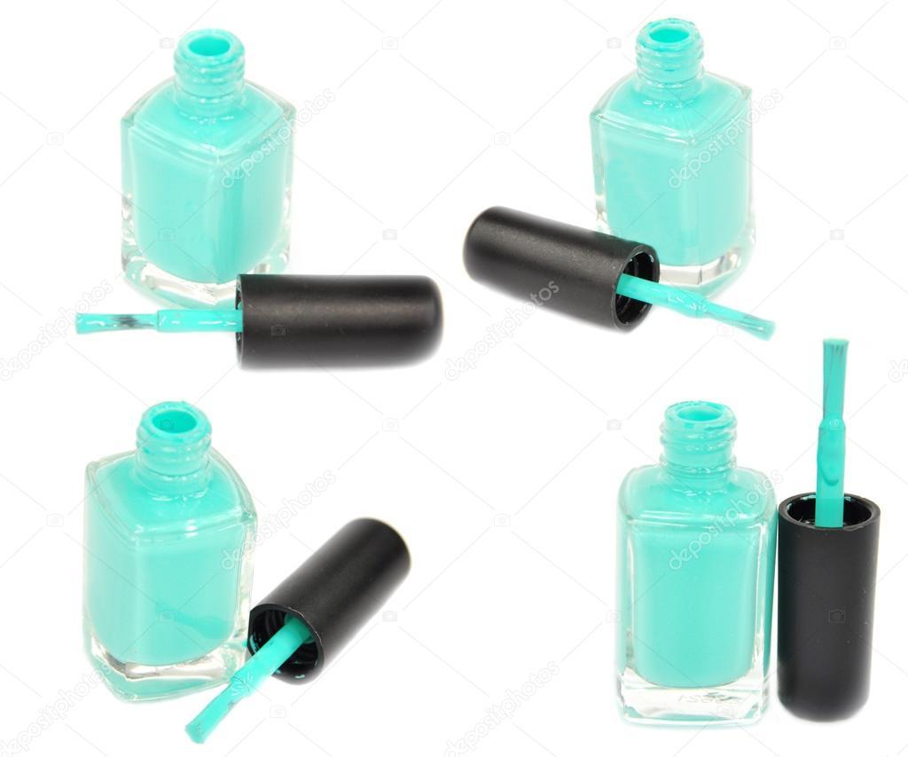 menta color de esmalte de uñas — Foto de stock © kirovkat #32740357