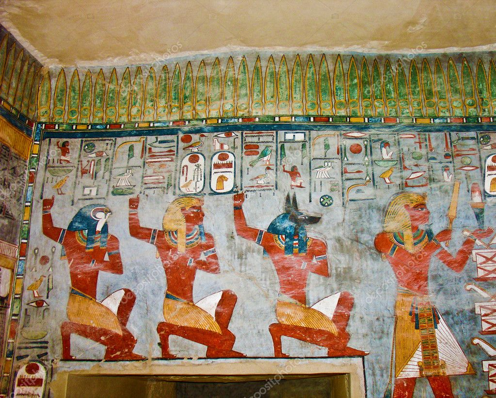 Paintings On Tomb Walls