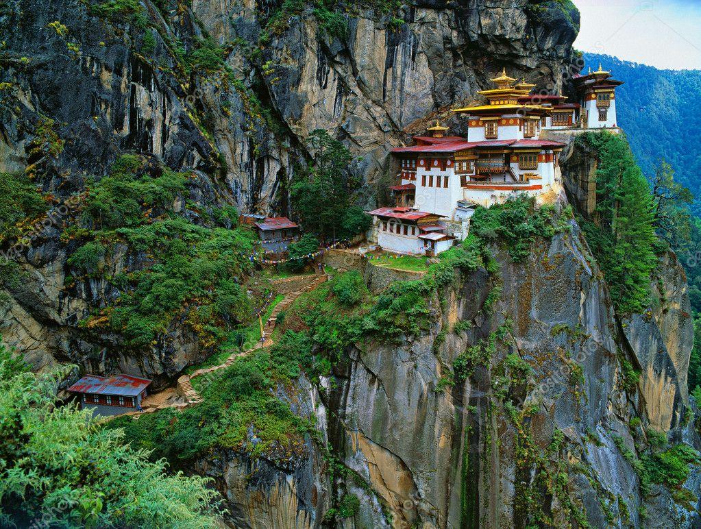 Himalaya, Tibet, Bhutan, Paro Taktsan, Taktsang Palphug Monaster