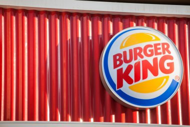 The logo of the fast food chain
