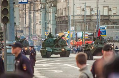 Moscow Victory Parade Rehearsal