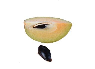 fresh sapodilla isolated