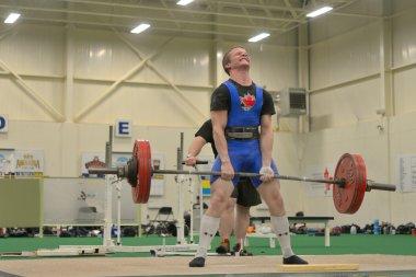 Powerlifting event - deadlift lift