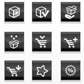 Fotografie balení a koupit ikony