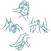 masáž jako lékařský zákrok kabelové sady