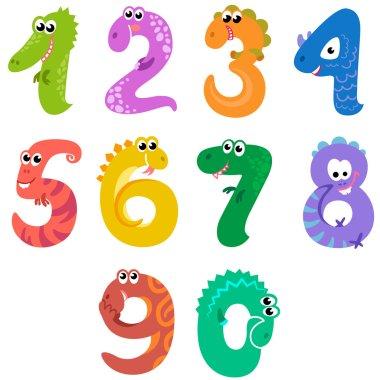Numbers like dinosaurs