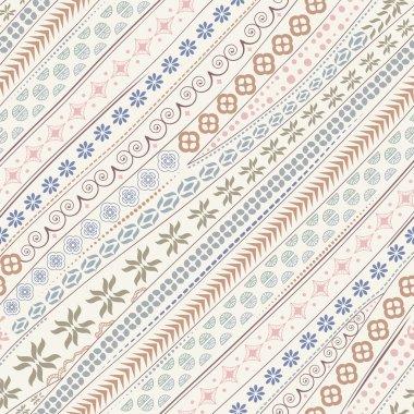 Tribal ethnic ornamental pattern