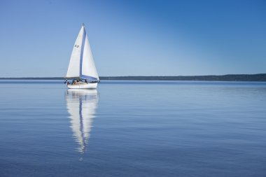 Sailboat in Calm Water