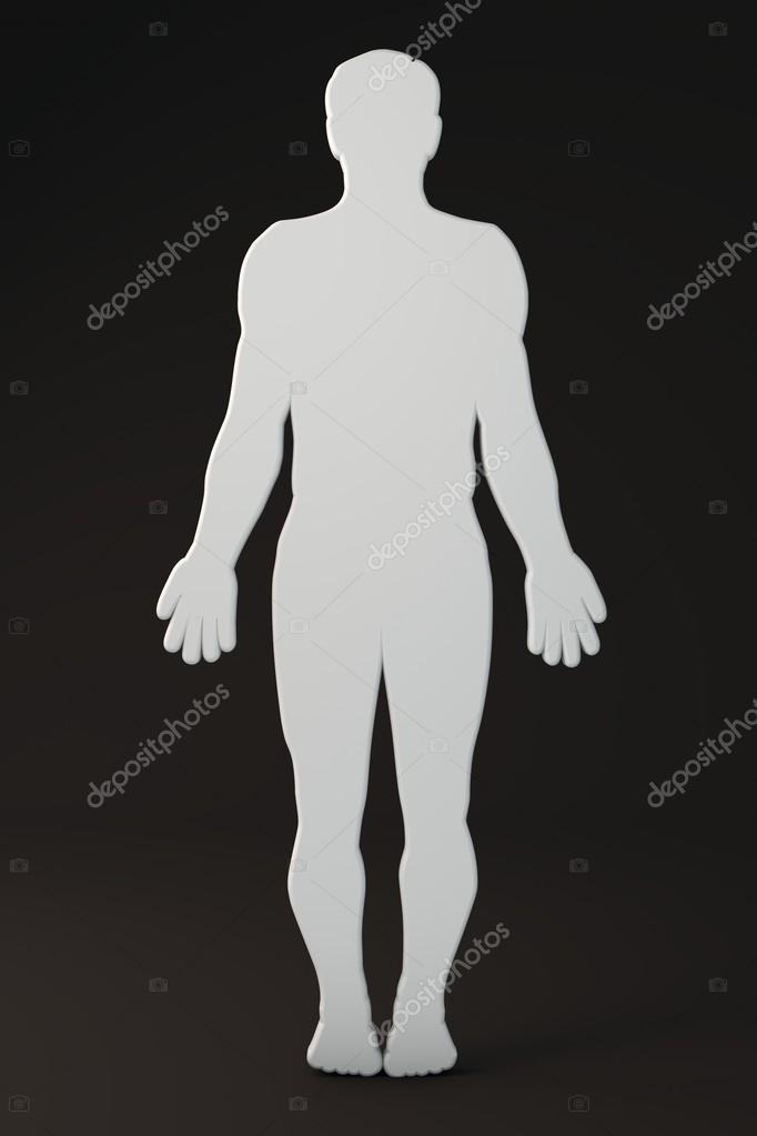 contorno corporal — Fotos de Stock © vampy1 #48158807