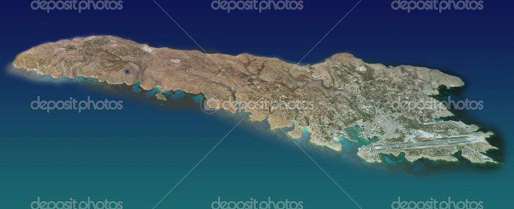 lampedusa karta ön Lampedusa, karta, Flygfoto — Stockfotografi © vampy1 #50638667 lampedusa karta