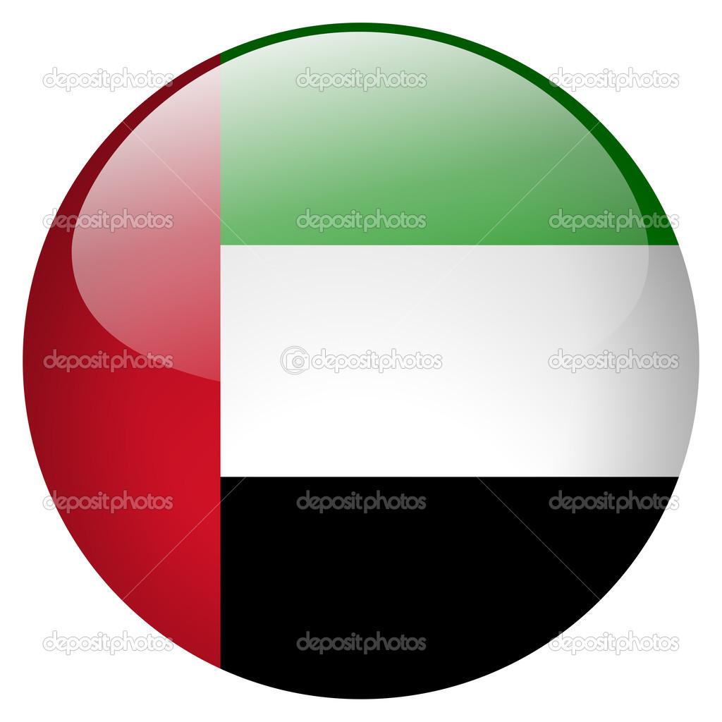 united arab emirates flag button stock photo aquir014b 24379537