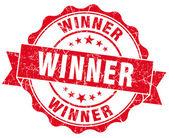 Winner Grunge Stamp