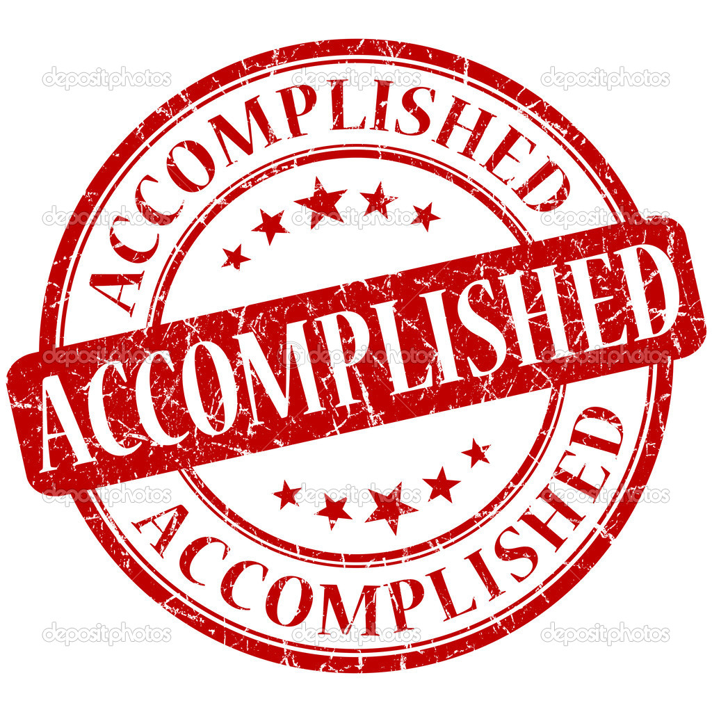 Image result for accomplished