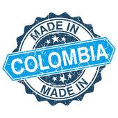 v Kolumbii vinobraní razítko izolovaných na bílém pozadí