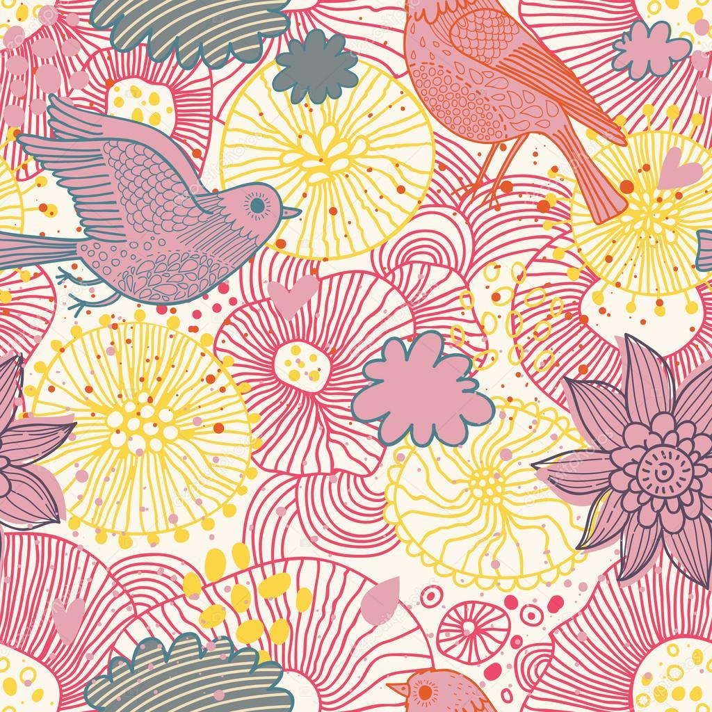 Fondo Fondos De Pantallas Vintage Estilo Floral De Patrones Sin